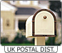 View UK Postal Districts details